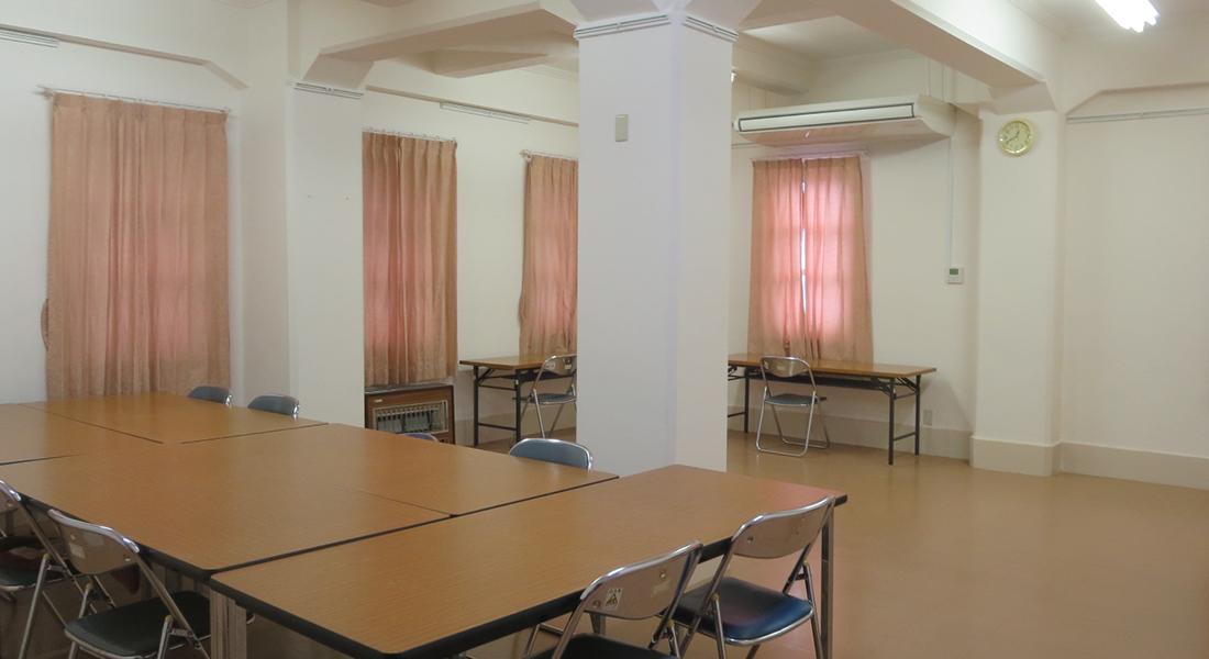 グラウンド階 文化教室